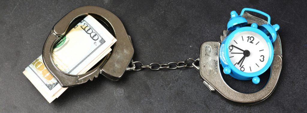 two people posting bail
